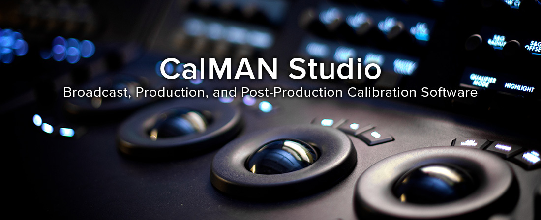 CalMAN Studio Broadcast, Production, and Post-Production Calibration Software