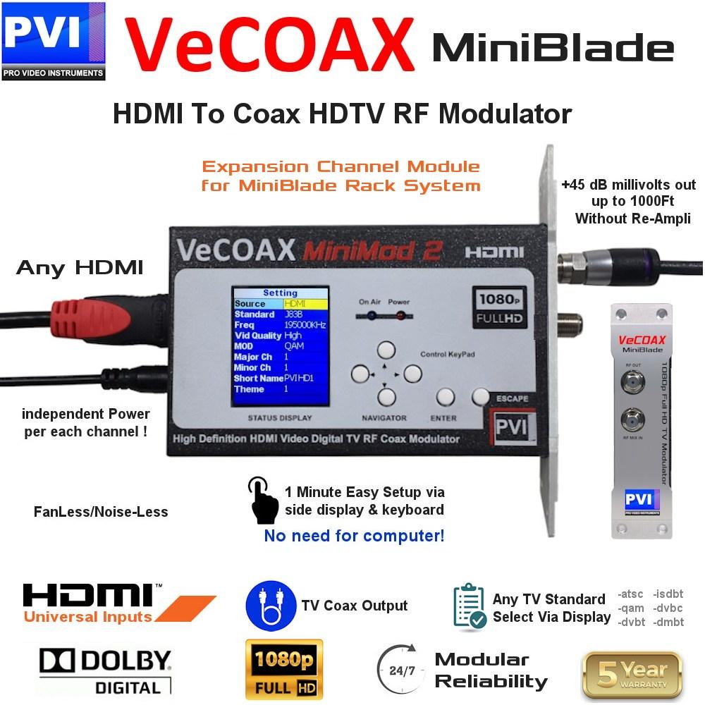 vecoax miniblade